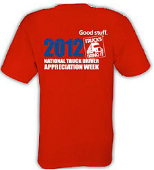 Driver Appreciation Shirts Available From ATA - Articles ...