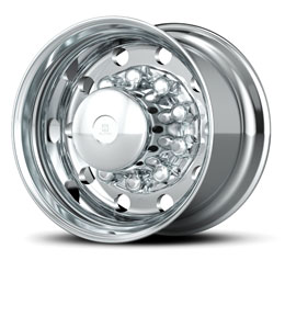 Alcoa announced the launch of its new line of wide base alumnium wheels. (Photo courtesy of Alcoa)