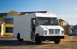 Workhorse offers its MetroStar, with contemporary International-like nose styling and aluminum bodies.
