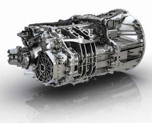 Detroit automated mechanical transmission will initially be available with Detroit engines in Freightliner's Cascadia road tractor.