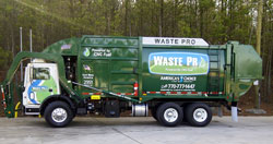 E-Z Pack and Waste Pro released a CNG solid waste collection truck.