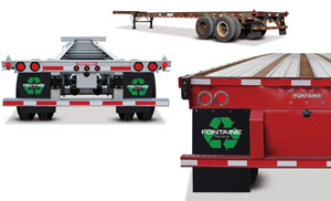 Fontaine Renew takes old, beat-up trailers or container chassis and makes them look and haul like new at one-third to one-half the cost of a new vehicle.