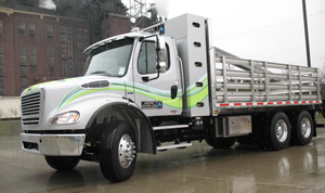 Freightliner M2-112 with an 8.9-liter Cummins Westport ISL-G