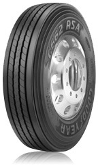 Goodyear's G662 RSA features TredLock Technology, with interlocking microgrooves.