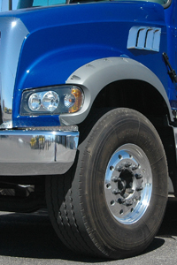 Nitrogen tire filling helps maintain proper inflation pressure longer. (Photo by Jim Park)