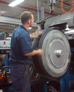 What constitutes a fuel-efficient retreaded tire? An industry committee could soon have the answer. (Photo by Jim Park)