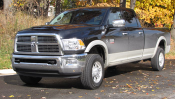 Along with sharp styling and fresh interiors, Dodge has bestowed a smooth ride to its revised Ram Heavy Duty pickups. (Photo by Tom Berg)