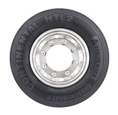 Continental's new HTL2 Eco Plus tire is available for commercial trucks in sizes 215/75R17.5, 235/75R17.5 and 245/70R17.5.