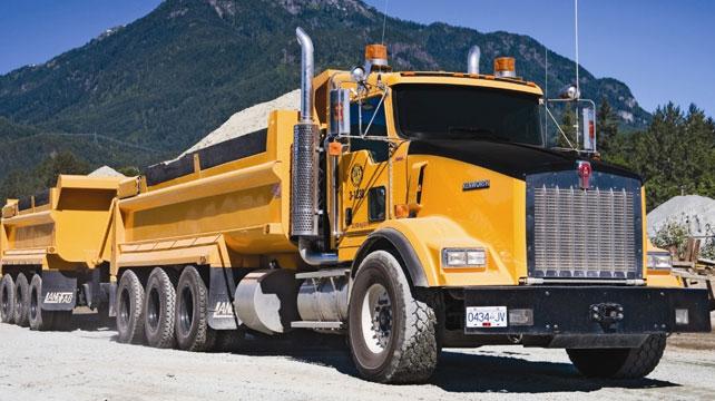 Kenworth Offers Advice On Specs For Dump Trucks