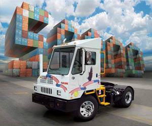 Kalmar Special Edition package marks the production of the company's 50,000th terminal tractor earlier this year. It was part of a 12-unit order from Safeway Foods, a long-time customer, the builder says.