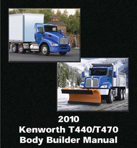 Kenworth releases body builder manual for t440 t470 models the t440 is designed for regional haul city pickup and delivery municipal and vocational applications the kenworth t470 is for snowplow dump mixer publicscrutiny Images