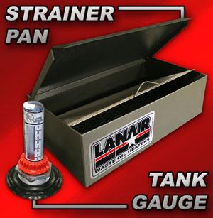 Lanair Introduces Strainer Pan Amp Tank Gauge Combo Add On