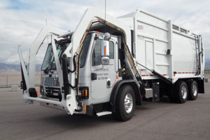 International LoadStar with EZ Pack top-loader body is among the integrated trash-hauling products to be available from Navistar in the second half of 2013.