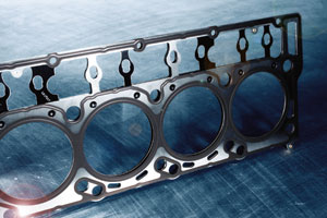 The new Victor Reinz head gaskets with advanced Black Diamond coating technology are constructed of five stainless steel layers.