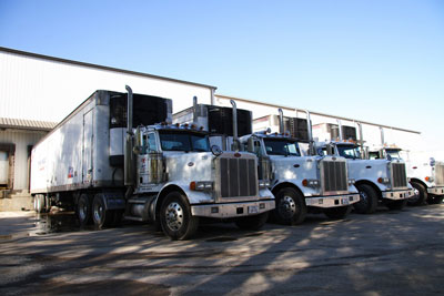 By leasing trucks, Mims Meat could update its fleet immediately without straining the corporate credit line. Dan Mims says buying 16 trucks would have been tough financially.