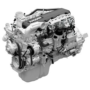 The 12.9-liter Paccar MX-13 engine is designed to meet the demands of heavy-duty truck applications. The engine is available for Kenworth Class 8 models, including the Kenworth T660, T680, T700, T800 and W900.
