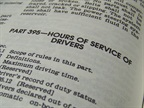 Hours of Service Hot Button Questions, Part 1