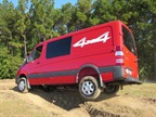 Test Drive: Sprinter 4x4s Traverse Rough Terrain