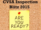 How to Prepare for the CVSA Inspection Blitz