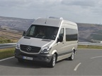 Driving impressions: Electronic Assist Systems Help New Sprinter's Handling