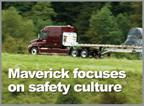 Maverick Transportation Focuses on Safety Culture