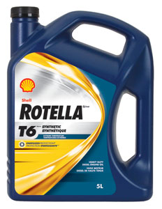 Shell rotella t6 0w 40 designed to operate in extreme cold for Shell rotella t6 5w 40 diesel motor oil