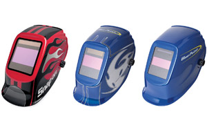 Snap-on's new helmets are built to handle different welding processes.