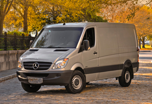European Sprinters are now sold by a growing network of Mercedes-Benz and Freightliner dealers.