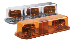 Superior Signals has developed new halogen rotator mini bars.