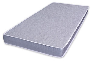 The TRP Aftermarket Parts innerspring mattress is 7 inches thick and features a design that limits horizontal motion.