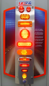 A quality manufacturing process uses ultraviolet resistant polycarbonate lenses and a high diode count. This results in stop, trim, turn and tail lamps that make vehicles easier to see.