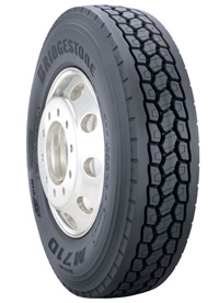 Bridgestone's Ecopia tire and casing solution could save up to 5% in fuel costs.