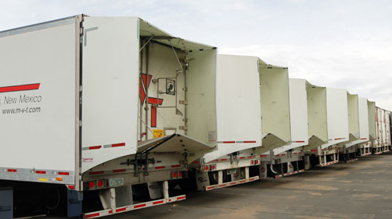 Mesilla Valley Transportation successfully tested TrailerTails aero devices.