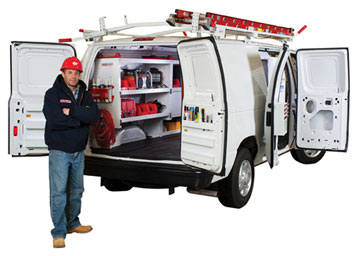 New Weather Guard van storage equipment includes professional trade packages, bulkheads and shelving, accessories and specialty and secure storage.