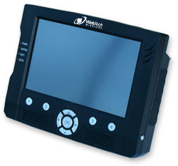 Quadrant In-Cab has a large seven-inch, color touch screen display. It builds on the features of the existing MDT2000 series.