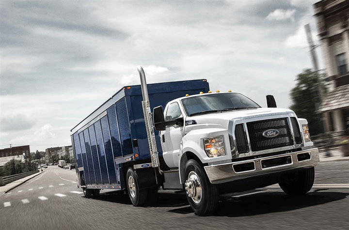 Ford's F-650 and F-750 vocational trucks received Work Truck
