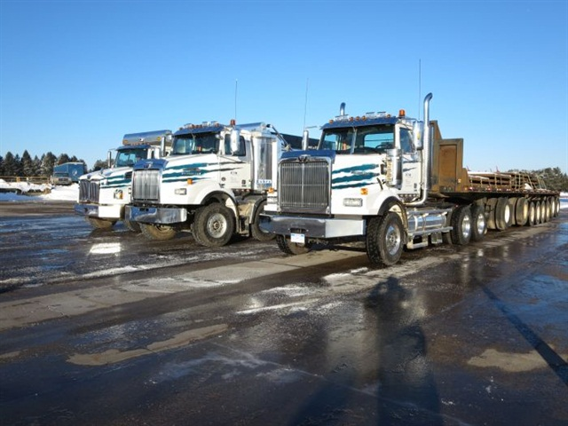 Western Star stations three vehicles at Eaton's proving grounds