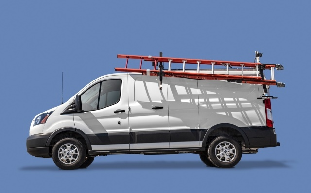 Adrian Steel's Drop-Down and Grip Lock Ladder Racks provide