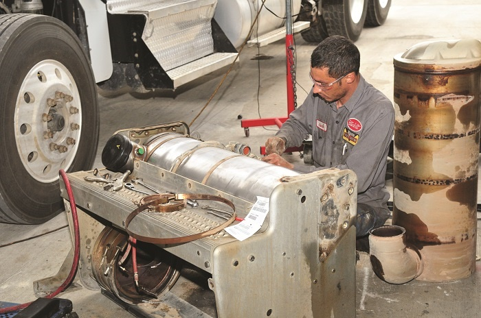 A truck driver may not know when to address a DPF regen warning, which