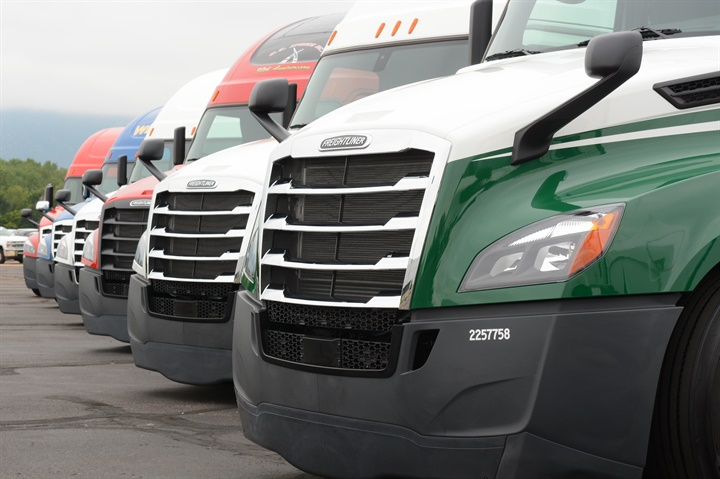 Freightliner s new Cascadia model represents fours years of work. It