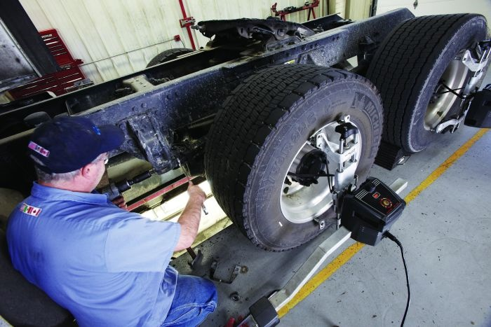 Proper alignment is an often-overlooked maintenance task that can have