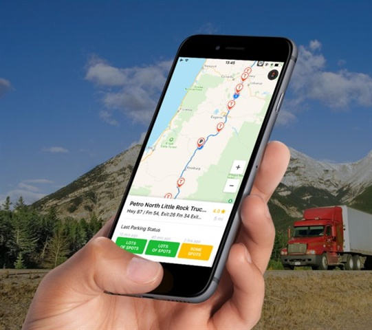 Trucker Path helps drivers plan their route, find trucking and other