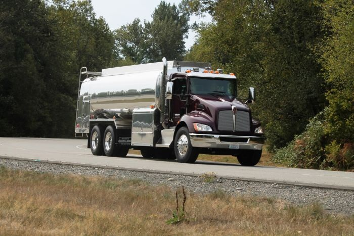 Though a midrange model in Kenworth's lineup, this T370 has many