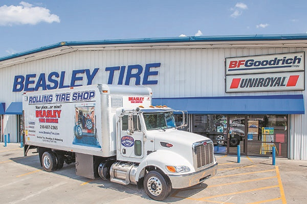 Beasley Tire offers mobile services that perform on-site alignment and