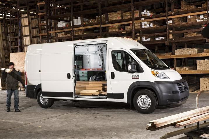 ProMaster's front-wheel drive is unique to full-size Eurovans