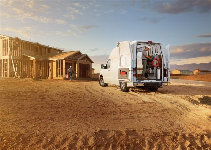 Nissan's NV series of cargo vans use the body-on-frame design