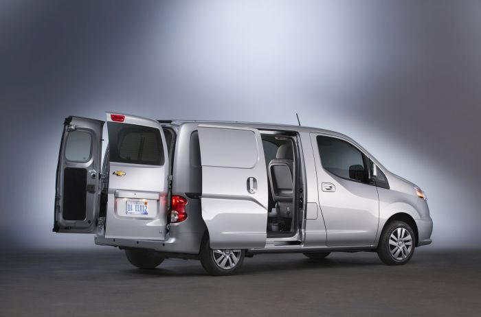Nissan's NV 200 compact van is also sold by Chevrolet as the