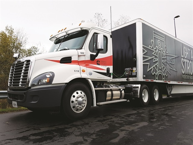 We tested our X12 in a Cascadia daycab on Interstate and two-lane