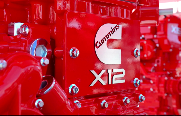 The new X12 from Cummins is based on the global ISG platform.