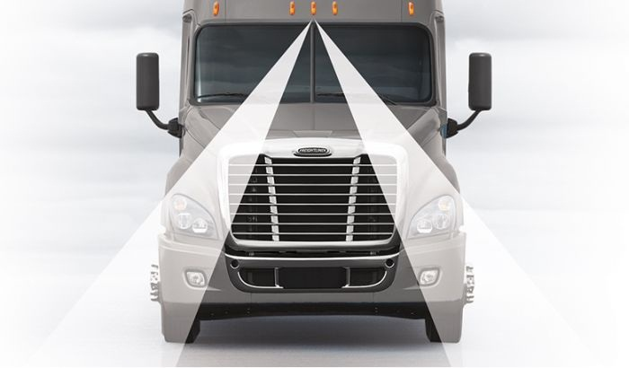 Detroit Assurance includes an optional Lane Departure Warning system
